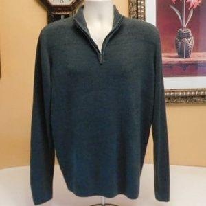 Geoffrey Beene Quarter Zip Pullover Sweater